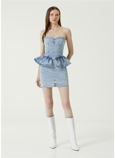 Etoile Isabel Marant Elbise Mavi